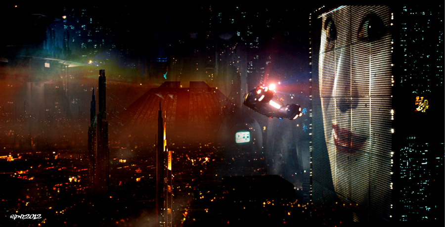 Useful message blade runner city pity