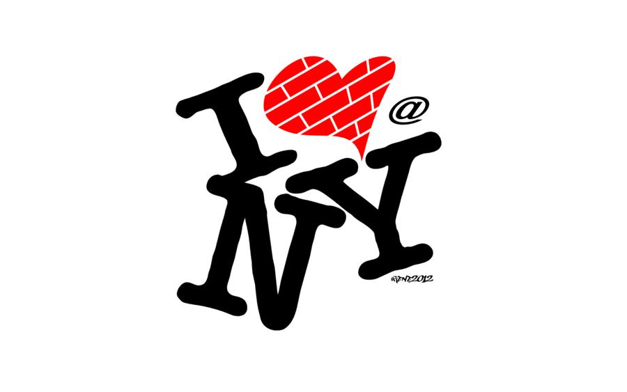 i love new york - art logoelclon on deviantart