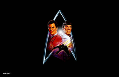 Star Trek IV: The Voyage Home - Logo by elclon