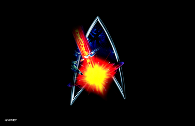 Star Trek VI: The Undiscovered Country - Logo by elclon
