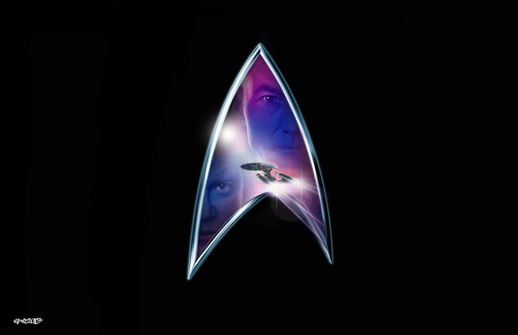 Star trek generations logo by elclon on deviantart - Star trek symbol wallpaper ...