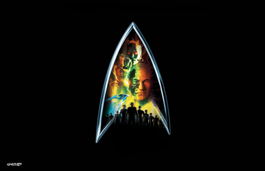 Star Trek: First Contact - Logo by elclon