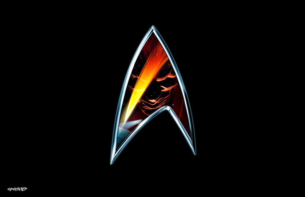 Star trek insurrection logo by elclon on deviantart - Star trek symbol wallpaper ...