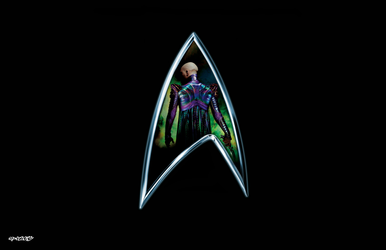 Star Trek: Nemesis - Logo by elclon