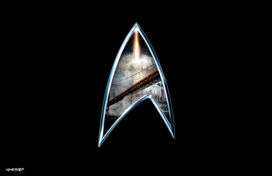 Star Trek - The future Begins - Logo by elclon