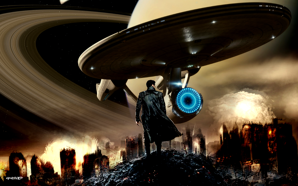 Star Trek Into Darkness Wallpapers: Saturn Wallpaper By Elclon On