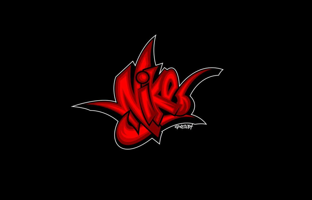 Nike - Graffiti Logo Art by elclon on DeviantArt a3c093348ec2