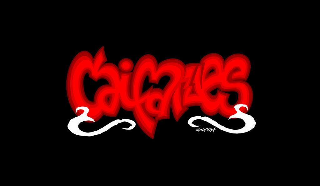 Caifanes - Graffiti Logo Rock Mex