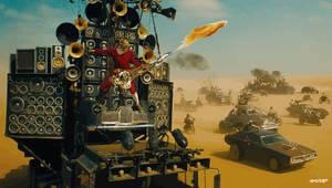 Mad Max: Fury Road - Coma-Doof Warrior by elclon