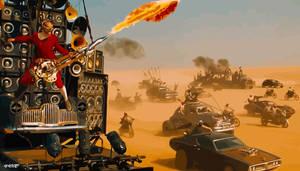 Mad Max: Fury Road - Coma-Doof Warrior 2 by elclon