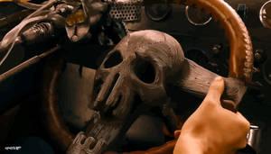 Mad Max: Fury Road - Immortan Joe's Skull by elclon