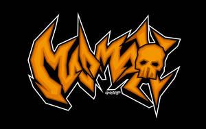 Mad Max: Fury Road - Graffiti Logo by elclon