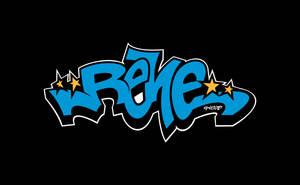 Graffiti - Rene Retro Style Street 2 by elclon