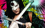 Suicide Squad - Katana Vector Wallpaper