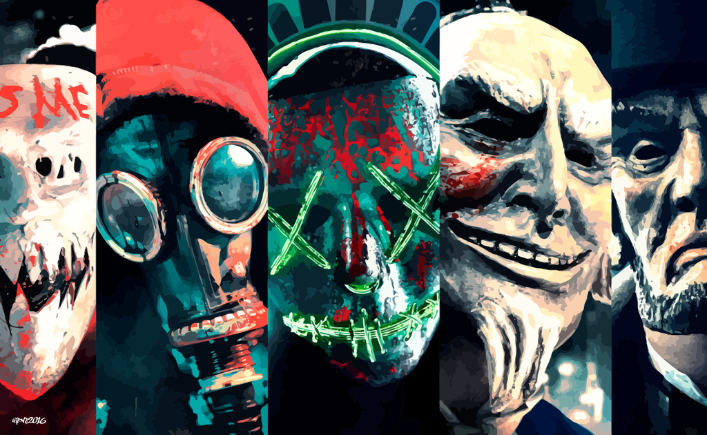 6 The Purge Election Year Hd Wallpapers: Vector Wallpaper 2 By Elclon On