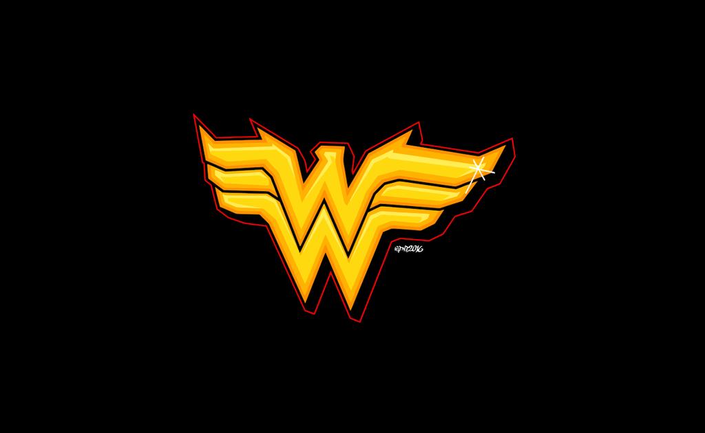 Wonder Woman Logo Wallpaper 61 Images: Graffiti Vector Logo By Elclon On DeviantArt