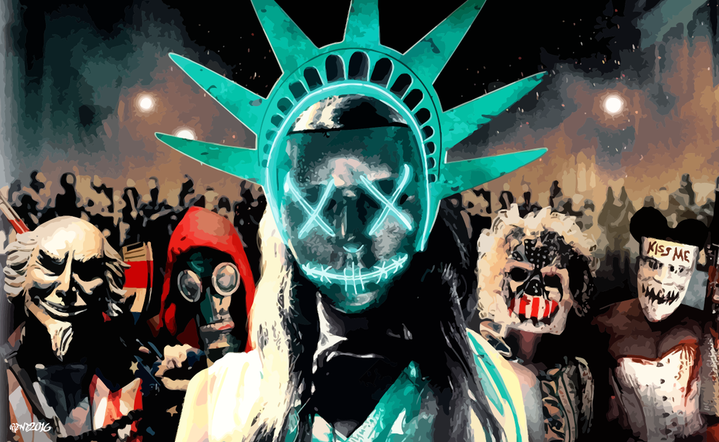6 The Purge Election Year Hd Wallpapers: Vector Wallpaper 3 By Elclon On