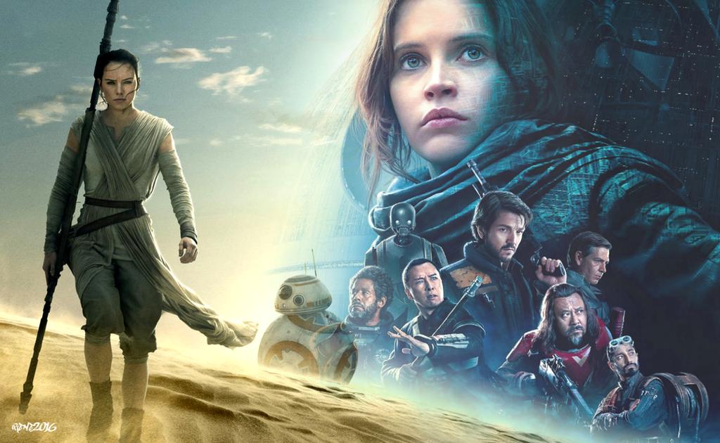Star Wars Rogue One Wallpaper: Rey Wallpaper By Elclon On DeviantArt