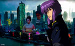 Ghost in the Shell - Wallpaper Vector Anime 0.07