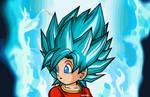 Son Pan Super Saiyajin Blue