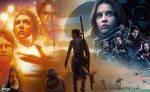 Star Wars: Rogue One - Rey Wallpaper 02