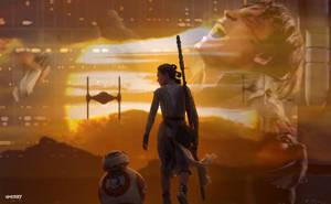 Star Wars: Episode VIII - The Last Jedi by elclon