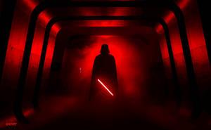 Star Wars: Rogue One - Darth Vader Vector by elclon