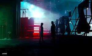 Blade Runner 2049 - Night LoveVector 2 by elclon