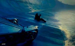 Blade Runner 2049 -  Wallpaper  Vector by elclon