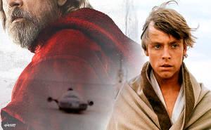 Star Wars: Episode VIII - The Last Jedi Luke by elclon