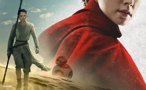 Star Wars: Episode VIII - The Last Jedi Rey by elclon