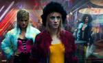 Blade Runner 2049 - Girls Street Wallpaper