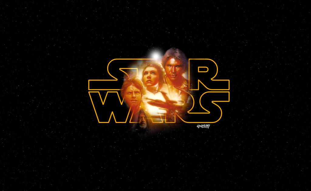Star Wars Episode Iv A New Hope Logo By Elclon On Deviantart