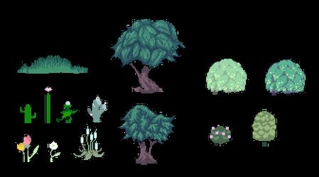 Pixel Plants (Aug 2013)