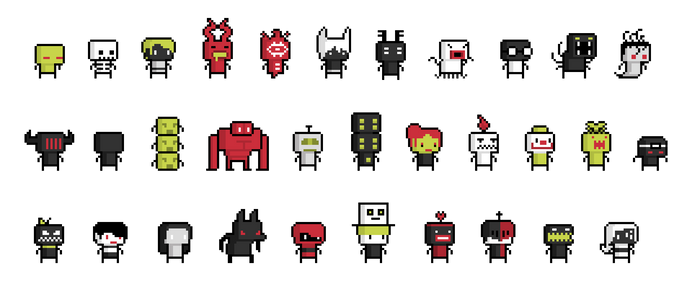 Roguelike characters (Oct 2014)