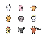 Animal Sprites (Nov 2014)