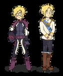 Alternative Sheik + Prince Zelda (Mar 2015)