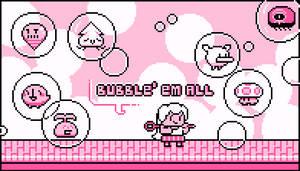 Bubblemon Girls Edition (Jul 2015) by emimonserrate