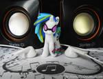DJ Pon-3 aka Vinyl Scratch by TheNunnally