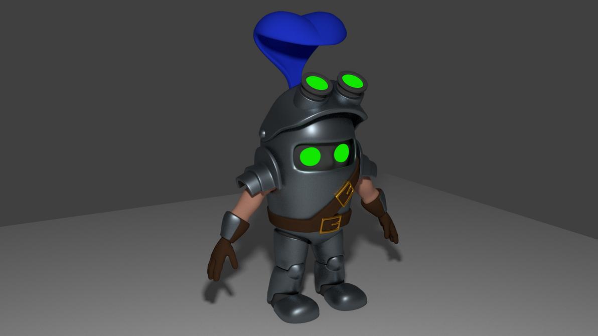 Sir Missalot 3D by KentaeTheHatman