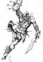 guerrero by cazadordeaventuras