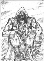 deadman boceto by cazadordeaventuras