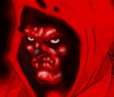 blood for oil (boceto personaje) by cazadordeaventuras