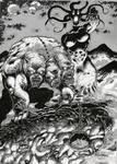criaturas infernales(grises)