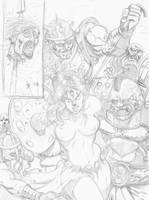 Comic Pag 2:valle de la muerte by cazadordeaventuras
