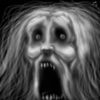 el grito... by cazadordeaventuras