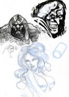 bocetos by cazadordeaventuras