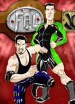 dibujo para espectaculo de lucha libre