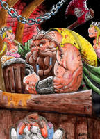 vikingo festejando by cazadordeaventuras