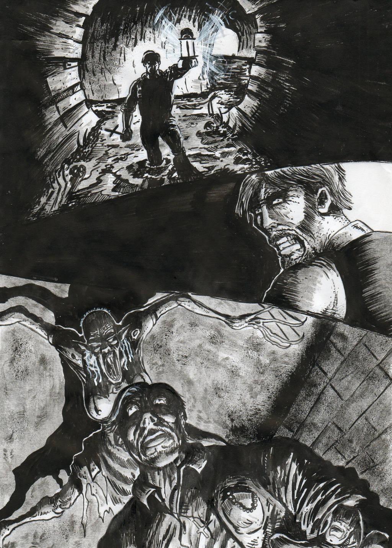 el nido de nosferatus(comic en proceso) by cazadordeaventuras